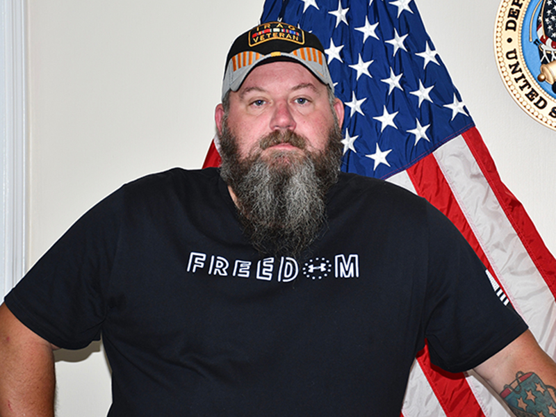 Polk County native and Army veteran Ray Arthur is the contact person for those interested in learning more about or joining our community's local veteran organizations.