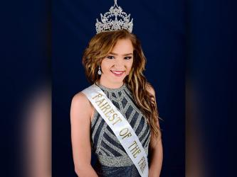 Copper Basin High School junior Riley Smith recently won the Polk County Fairest of the Fair pageant in Benton. Smith will be traveling to Nashville to compete in January. She is the daughter of Kevin and Holly Smith.