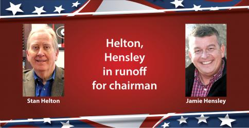 Incumbent Stan Helton will face Jamie Hensley in a runoff for Fannin County Board of Commissioners Chairman