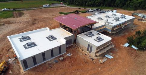 The University of North Georgia's stand-alone campus in Blue Ridge will be completed in time for the start of the Fall 2020 semester, and will feature more Education courses as well as a new Anatomy & Physiology course this year.