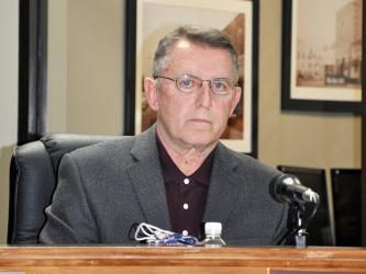 Blue Ridge Councilman Mike Panter has been accused of making a criminal threat against Councilman Nathan Fitts.